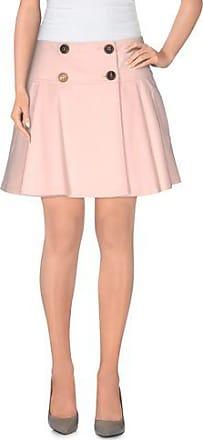 Redvalentino Woman Metallic Floral-jacquard Mini Skirt Antique Rose Size 40 Red Valentino