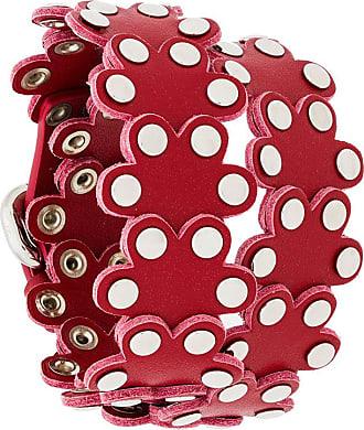 Red Valentino studded floral bracelet - Black
