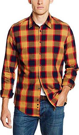Slim Fit, Chemise Casual Homme, Multicolore (Grün Navy), Tour de Cou: 38 cm (Taille Fabricant: 38)Redford