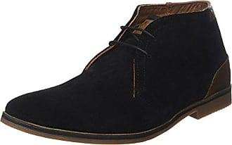 Redskins Hello_Noir - Zapatos de cuero para hombre, color negro, talla 42