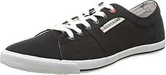 Redskins UO02102 - Zapatillas de Deporte de Lona Hombre, Negro (Noir (Noir)), 40 EU