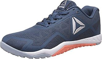 Reebok Yourflex Trainette 9.0 MT, Sneaker Basses Femme, Bleu (Collegi NVY/Stllar PNK/WHT/Silver/Grey), 38.5 EU
