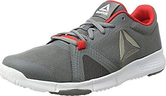Reebok Trainflex, Chaussures de Fitness Homme, Noir (Black/White/Pewter), 42 EU