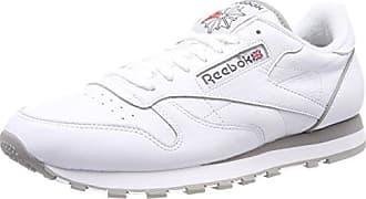 Reebok Classic Leather Archive, Zapatillas para Mujer, Blanco (White/Carbon/Red), 38 EU