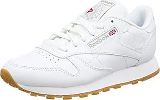 Reebok Classic Leather L, Basses Femme - Blanc (Pearl-White/White/Ice), 40.5 EU (7 UK)