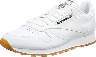 Reebok Uomo Royal CL Jog 2L Scarpe Sportive, Bianco (Blanco (White/Collegiate Navy)), 42