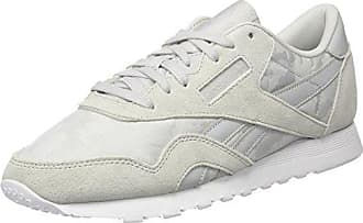 Reebok Classic Leather It, Sneakers Basses Homme, Blanc (White/Skull Grey/Black), 45.5 EU