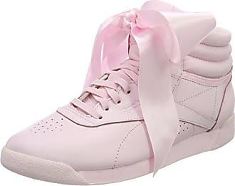 F/s Hi Iridescent, Zapatillas de Gimnasia para Mujer, Blanco (Whitepale Pink Whitepale Pink), 40 EU Reebok