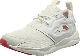 Reebok Cardio Motion, Chaussures de Fitness Femme, Beige (Chalk/Sand Stone/Sour Melon/White), 37 EU