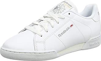 Reebok Classic Leather, Sneakers Basses Homme - Blanc (White/Gum) - 47 EU (Taille Fabricant : 12 UK)