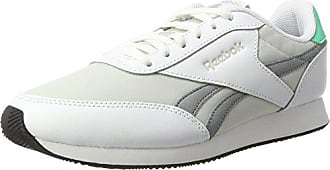 Reebok Royal EC Ride, Baskets Basses Homme, Blanc (White/Noir Skull Grey), 42.5 EU