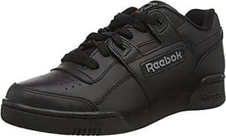 Workout Plus - Zapatillas de Deporte para Niños, Color Negro (Black/Charcoal), Talla 35 EU (3.5 UK) Reebok