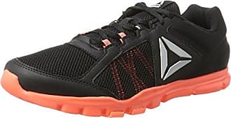 Bs9987, Chaussures de Fitness Femme, Noir (Blackwhitesilver), 42.5 EUReebok