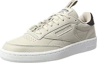 Reebok Club C 85, Chaussures de Gymnastique Femme, Noir (Pearl-Black/White/Ice), 41 EU