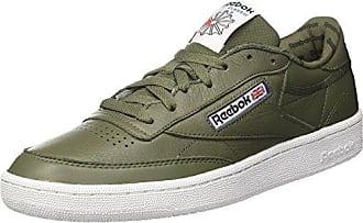 Reebok Workout Plus It, Zapatillas para Hombre, Verde (Hunter Green/Black/White), 44 EU