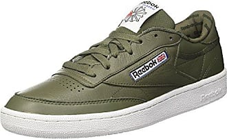Reebok Workout Plus It, Sneakers Basses Homme, Vert (Hunter Green/Black/White), 44.5 EU