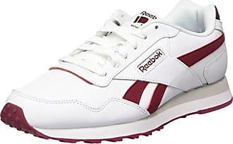 Reebok Herren Royal Glide LX Sneaker  45 EURot (Collegiate Burgundy/White 000)