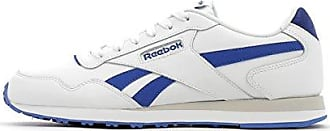 Reebok Herren Royal Glide Gymnastikschuhe Weiß (White/Collegiate Navy White/Collegiate Navy) 45 EU