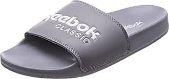 CLASSIC SLIDE - Pantolette flach - field tan/white