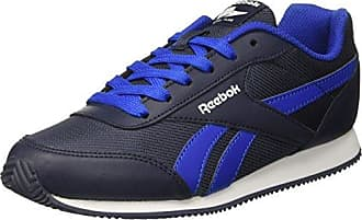 Reebok Jungen Royal Cljog 2 2v Laufschuhe, Mehrfarbig (Washed Bluewhiteli), 34 EU