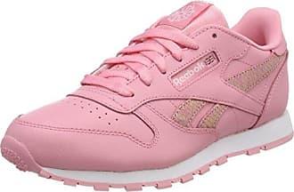 Reebok Mädchen Gymnastikschuhe Pink Moonglow/White, Pink - Moonglow/White - Größe: 25 EU