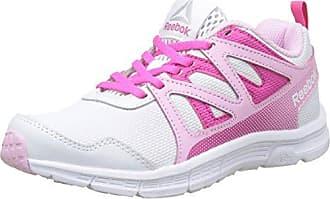 Reebok Mädchen Run Supreme 2.0 Laufschuhe, Elfenbein (White/Charming Pink/Charged Pink), 37 EU