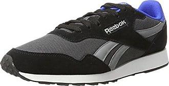 Royal Classic Jogger, Chaussures de Running Entrainement Homme, Noir (Black/White/Flat Grey), 39(6UK)Reebok