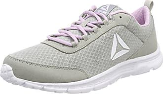 Reebok Print Lite Rush, Zapatillas de Trail Running para Mujer, Gris (Skull Grey/Flat Grey/Overtly Pink/White 000), 38 EU