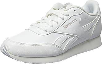 Reebok Royal Classic Jogger 2L, Chaussures de Running Entrainement Homme, AQ9791_39 EU_White/White/Steel, 39 EU