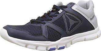 Reebok Sprint TR, Zapatillas de Deporte para Hombre, Azul (Collegiate Navy/Cloud Grey/Acid Blue 000), 45.5 EU