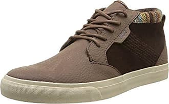 Reef Voyager Mid, Baskets mode homme - Marron (Brown), 45 EU (12 US)