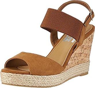 64332, Zapatos con Tira de Tobillo para Mujer, Marrón (Camel), 36 EU Refresh