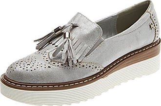 64063, Zapatos de Cordones Oxford para Mujer, Rosa (Nude), 38 EU Refresh