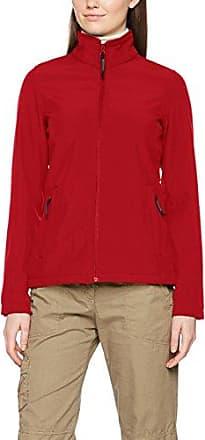 Regatta WomenS Sochi Softshell Jacket, Chaqueta para Mujer, Black (Black/Classic Red), 14
