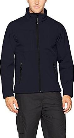 Moscow Shell Jacket, Chaqueta para Hombre, Black (Black/Limezs), Medium Regatta