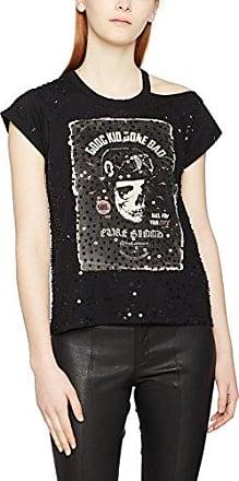 Religion 99, Camiseta para Mujer, Negro (Black), 40 (Tamaño Fabricante:Medium)