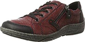 Remonte R3500, Baskets Enfiler Femme, Rouge (Fire/Rosso/Fire), 45 EU