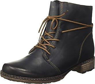 Zapatos negros estilo militar Jane Klain para mujer