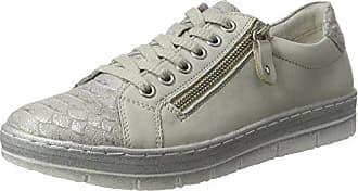 Remonte R3503, Zapatillas para Mujer, Plateado (White-Silver/Ice/Silver), 41 EU