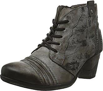 R1484, Botas para Mujer, Negro (Schwarz/Granit), 40 EU Remonte