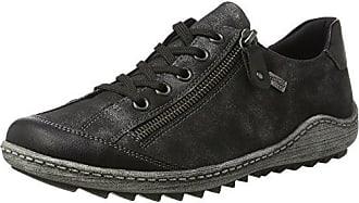 Womens R1402 Low-Top Sneakers, Grey (Asphalt/Schwarz/45), 8.5 UK Remonte