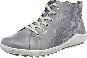 Remonte R3419, Zapatillas para Mujer, Azul (Jeans/Denim/Denim/Jeans), 37 EU