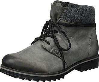 R1483, Zapatillas Altas para Mujer, Gris (Gris/Altsilber/Fumo 45), 36 EU Remonte