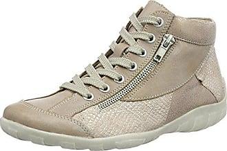 Remonte R3435, Zapatillas Para Mujer, Gris (Asphalt/Schwarz 45), 38 EU