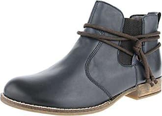 Remonte Damenschuhe R1472 Damen Stiefeletten, Stiefel, Boots Grau Kombi (grau/altsilber/cigar/schwarz/42), EU 37
