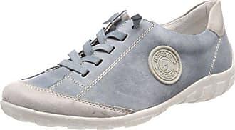 Remonte R3443, Zapatillas para Mujer, Negro (Steel/Schwarz/Schwarz), 42 EU