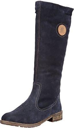 Remonte Dorndorf R6468 - Botas de Caño bajo de Cuero Mujer, Color Negro, Talla 39