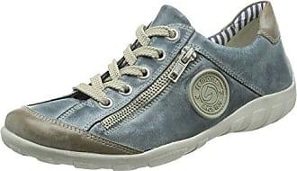 R1470, Sneaker a Collo Alto Donna, Nero (Schwarz/Schwarz), 39 EU Remonte