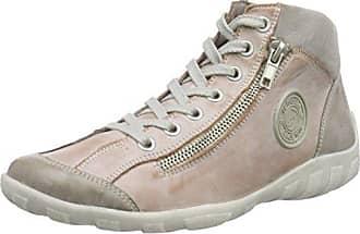 R3474, Sneaker a Collo Alto Donna, Nero (Schwarz/Graphit/Schwarz), 41 EU Remonte