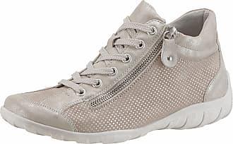 Remonte Sneaker, mit Perforation, natur, EURO-Größen, beige